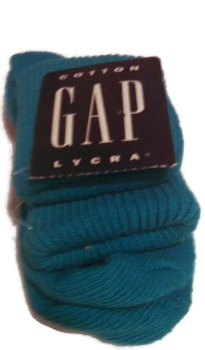 GAP Women's Size 9-11 Light Blue Aqua Casual Slouch Socks NWT #GAP #Casual