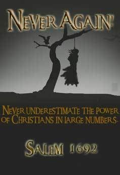 Ignorance, superstition, envy, and malice abound when religion and politics are intertwined.