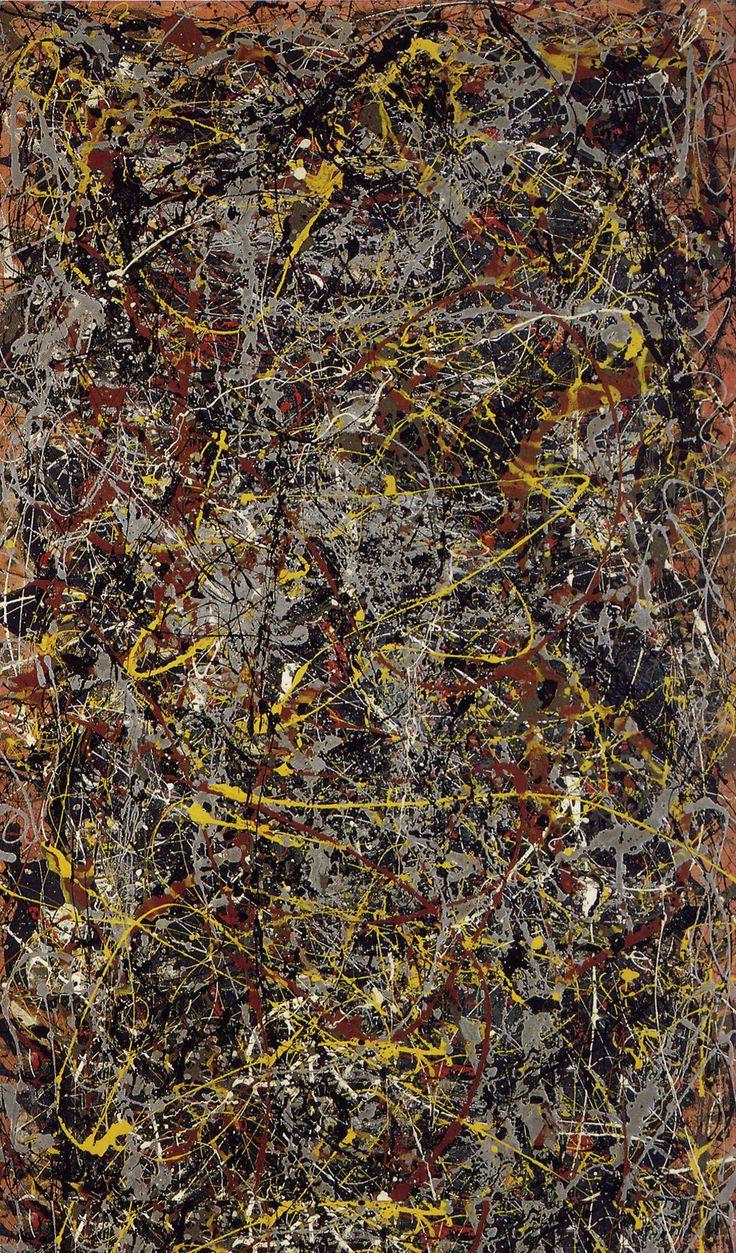 No: 5, 1948, Jackson Pollock