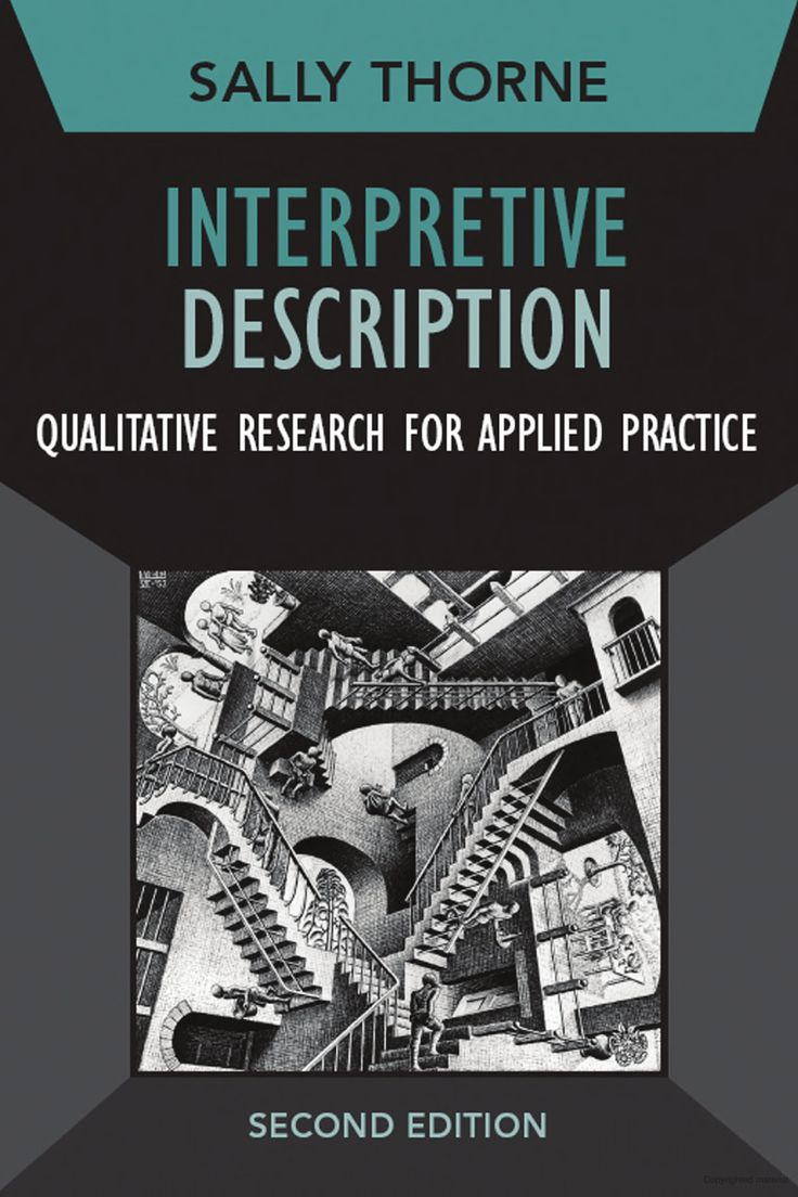 Qualitative poster design - Interpretive Description Qualitative Research For Applied Practice
