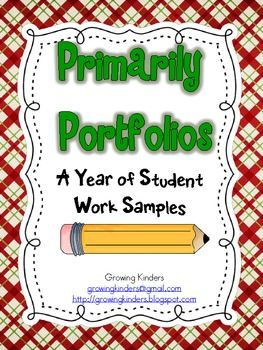 Documenting student growth with a portfolio is an excellent way to show that growth to both students and parents at the end ...