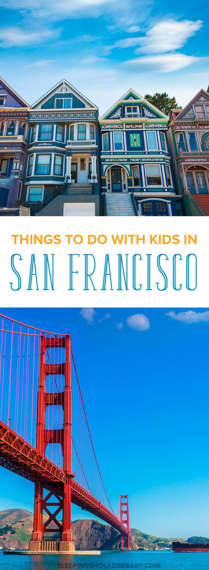 Looking for fun things to do in San Francisco with kids? Traveling with children is hard. Here are realistic places to visit and activities for families to do in San Francisco and the Bay Area. #sanfrancisco