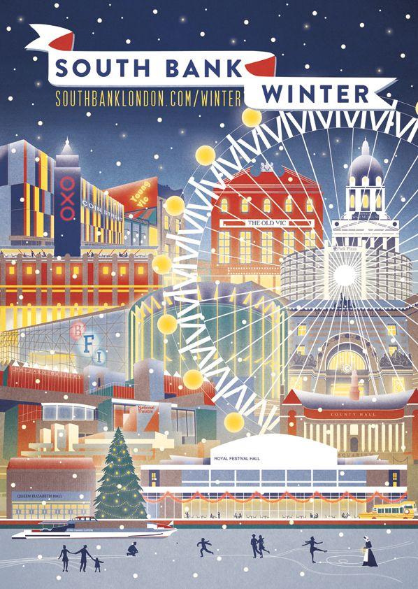 South Bank Winter - London