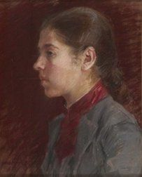 Artists Sister Gerda Thesleff  1889, Ellen Thesleff (1869-1954)