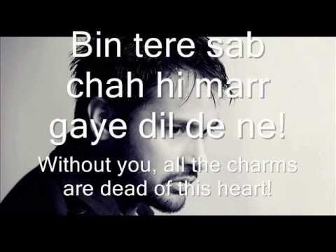 Top 12 Teri Yaad Lyrics English Translation - Gorgeous Tiny