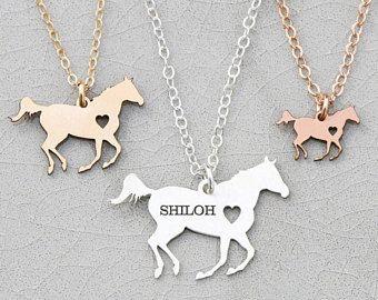 VENTA • carreras caballo collar • caballo personalizado amante regalo • caballo de plata • cañón • caballo carreras • Rodeo • ecuestre regalo Ideas de carreras