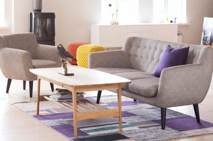 Retro 3-seter sofa, kr 5995, Skeidar