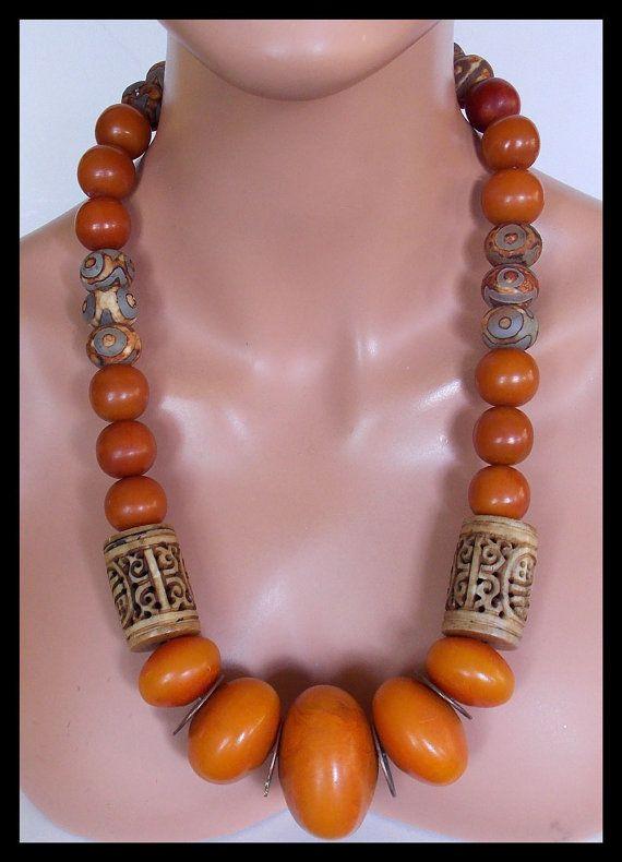 Ambar Amber africana hecha a mano por sandrawebsterjewelry