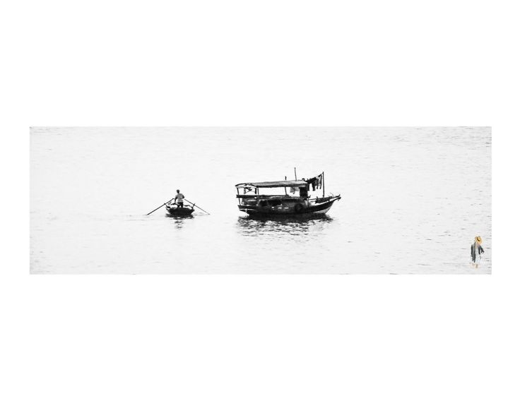 Vietnamese boat man