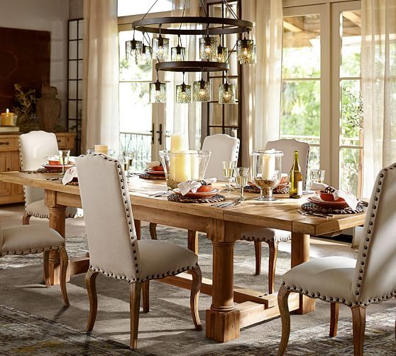 111 Best Pb  Dining⎮Bar Images On Pinterest  Dining Room Tables Stunning Dining Room Pottery Barn 2018