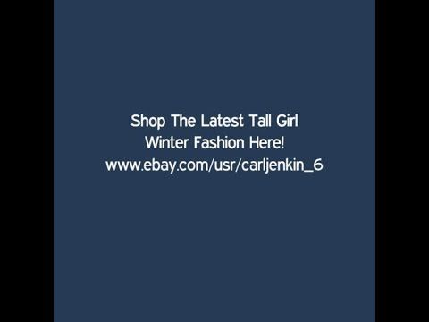 Shop The Latest Tall Girl Winter Fashion Here | www.ebay.com/usr/carljenkin_6 #fashioninspiration #womensfashion  #ebay #tall