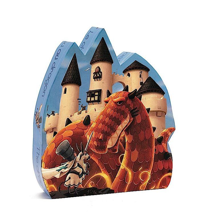 A sárkány vára Djeco puzzle | Pandatanoda