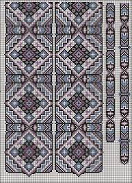 Αποτέλεσμα εικόνας για επαναλαμβανομενο σχεδιο σταυροβελονια με χαντρες