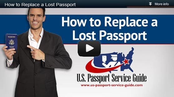 How to Replace a Lost Passport Video. You can replace a lost passport much in the same way you acquire a new one. The only difference is that you will need to report the loss and fill out an extra form. The same is true if your passport was stolen. Being the case, it will take the same amount of time as it does to obtain a new one unless you expedite your lost passport replacement.