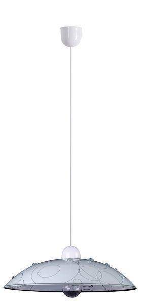JOLLY - závesný luster s priehľadnými sklíčkami - ø 400mm