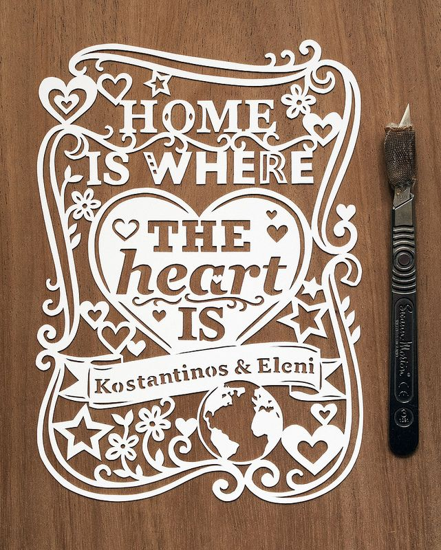 Chalkboard Art Home Is Where the Heart Is