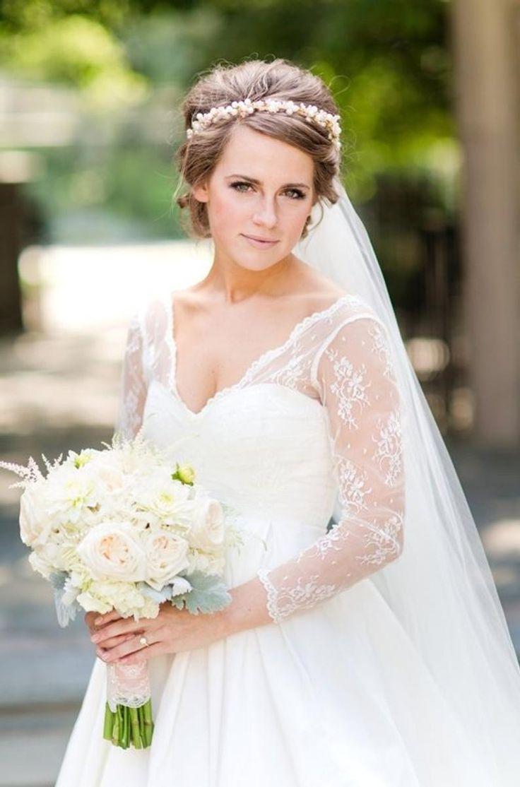 Bridal crown gold wedding crown pearl bridal vine bridal