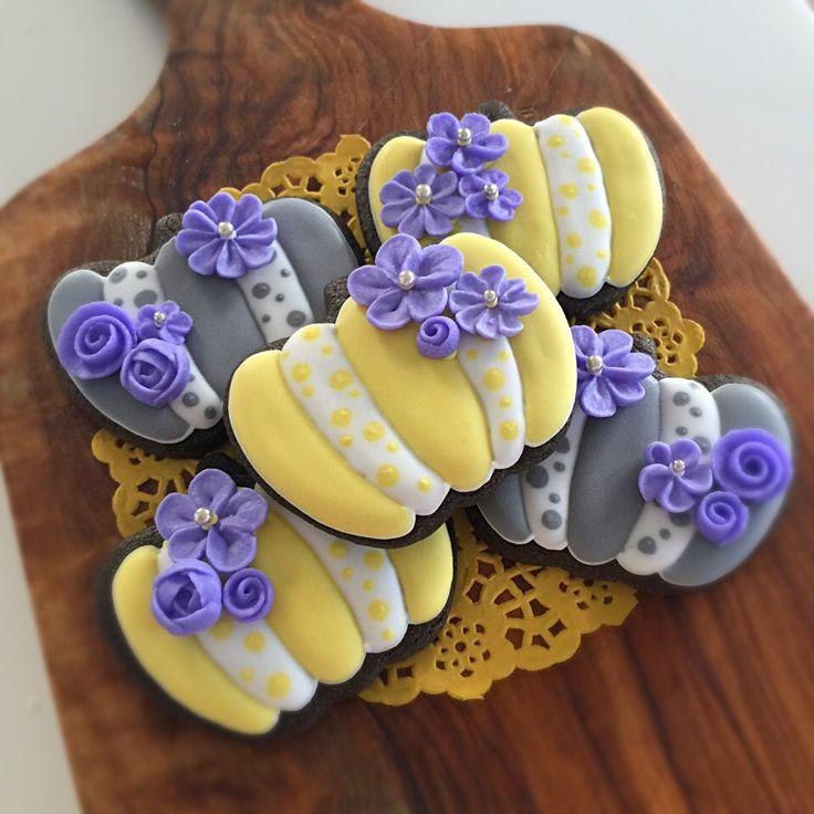 ワカナ's dish photo オトナなハロウィン アイシングクッキー | http://snapdish.co #SnapDish #おやつ #クッキー #友達&家族でパーティ料理 #こどもが大好きな料理
