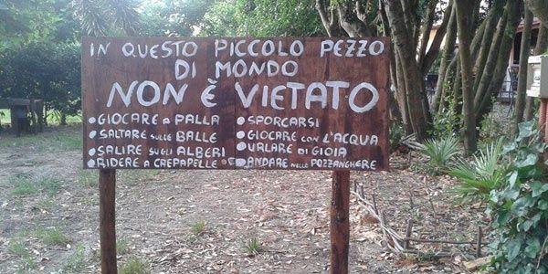 L'Asilo nel Bosco: il nido che educa i bambini all'aria aperta