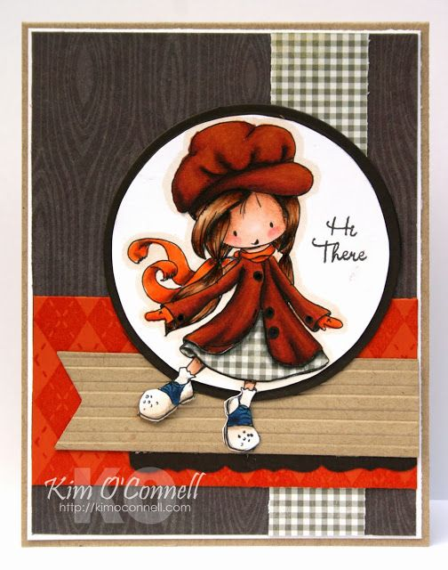 """Paper Perfect Designs by Kim O'Connell: """"Wryn in the Fall"""" by Tiddly Inks"""