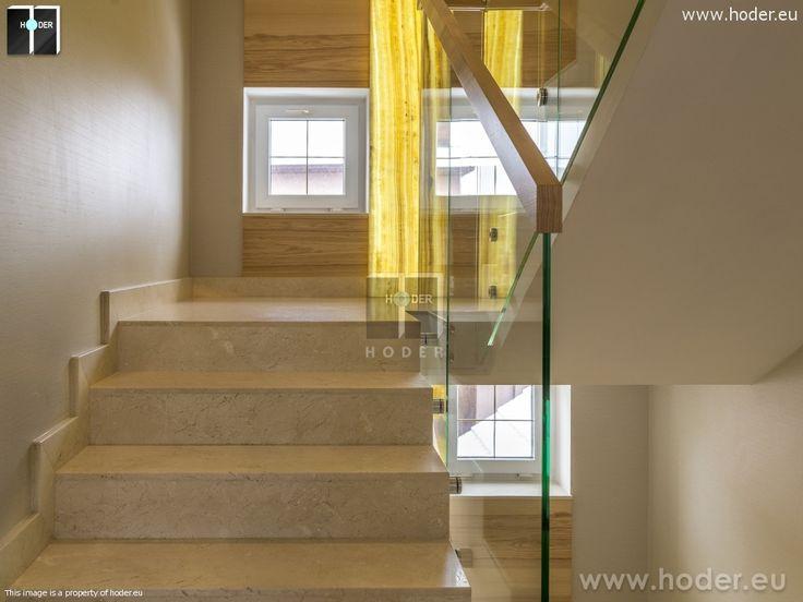 Realizacja schody granitowe #kamień #schody #granit #marmur #wnętrza #interior #design #office #hallway #marble #granite