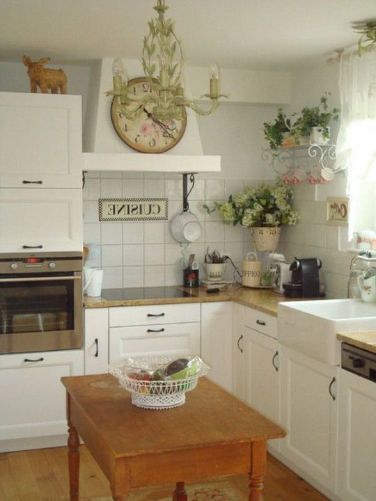 Image result for small country kitchens