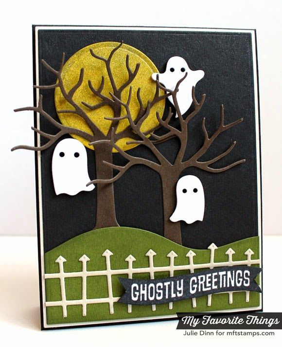 Ghostly Greetings Card by Kreative Jewels