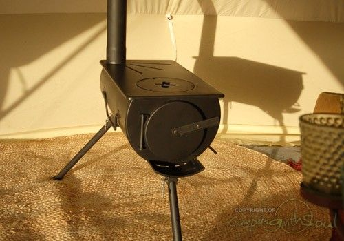 Portable Wood Burning Stove For Bell Tent Could Work On A