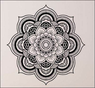 Keep the peace in your Spa or Salon with this Beautiful Mandala. A removable wall decal for smooth flat surfaces. Give your spa or salon the perfect zen. Guaranteed Safe Checkout - Easy Application an