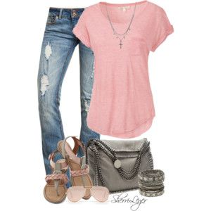 cute and casual spring...