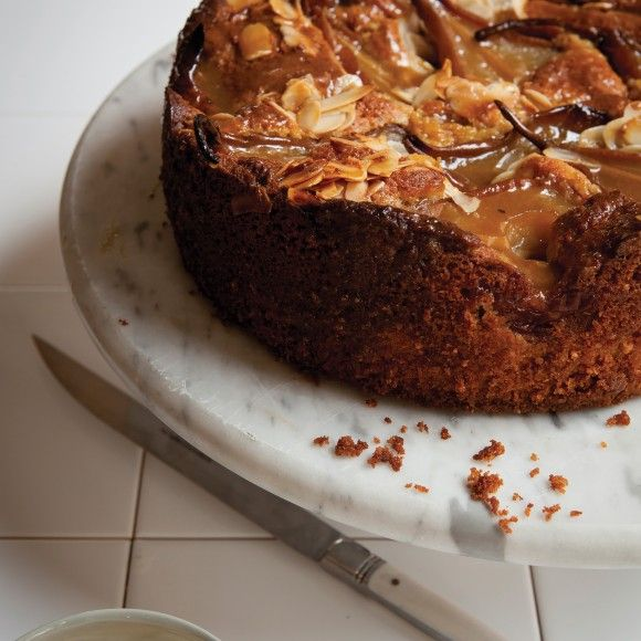 Collect this Beurre Bosc Pear and Almond Butter Cake ...