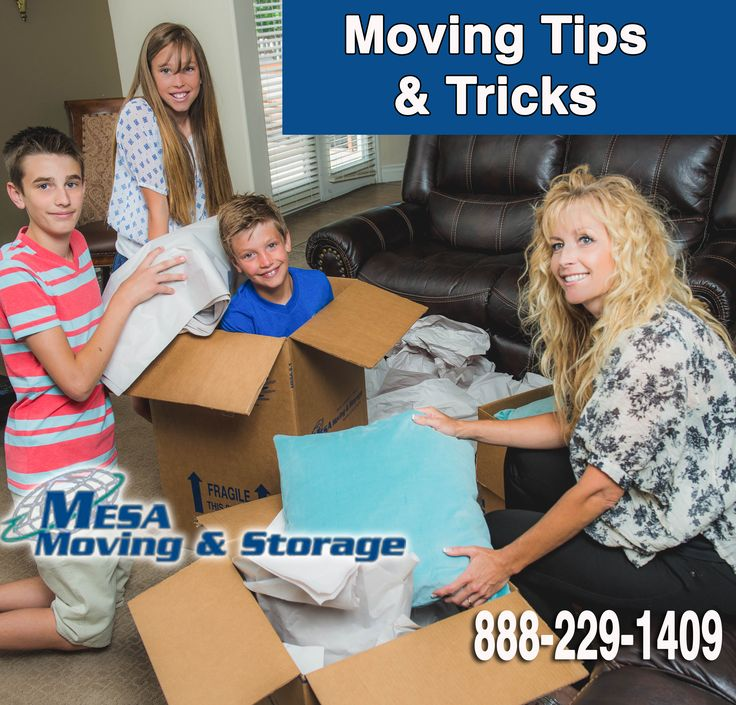 Avoid all the packing and moving and get a FREE moving estimate!  Or Call 888-229-1409 For a Free Moving Estimate with Mesa Moving and Storage to help you move! 1.  Get Free Boxes Ahead of Time:   …