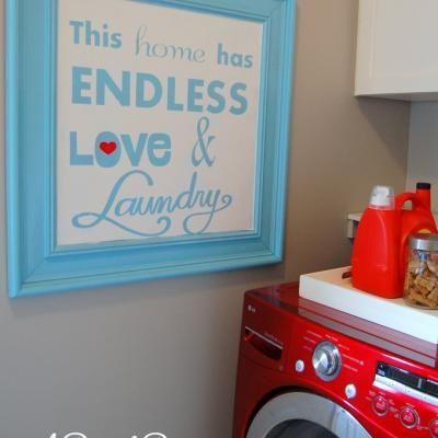 Cute Laundry Room Saying