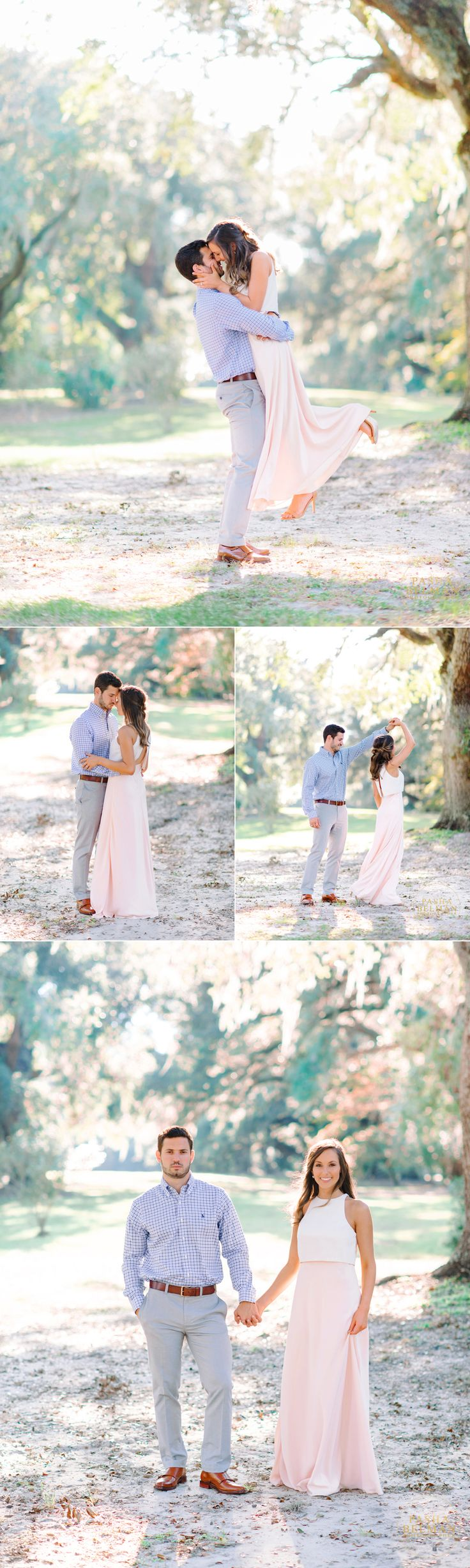 Mansfield Plantation | Live Oaks | Fine Art Film Inspired Photography | Engagement Photography | Charleston | Georgetown | Myrtle Beach | Engagement Photography Idea with Dogs | Film Inspired Engagement Photography | Spanish Moss Engagement Session