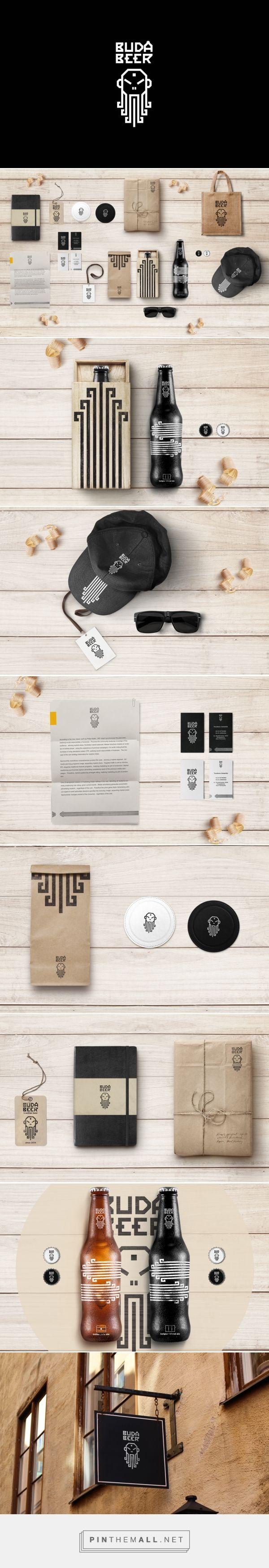 Buda Beer Bottles - Packaging of the World - Creative Package Design Gallery - http://www.packagingoftheworld.com/2016/10/buda-beer.html