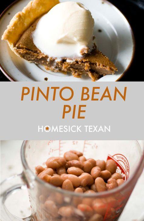 Pinto-Bohnen-Torte, die nicht süß, sondern herzhaft ist, ist eine ungewöhnliche Torte, die …