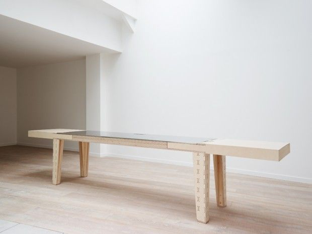 Table Work & Turn par l'Atelier JMCA - Journal du Design