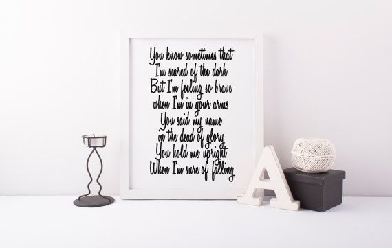Never Gonna Leave You, Adele Lyrics, 21 Album, Song Lyrics, Instant Download, Digital Print, Anniversary Gifts, Home Decor, Wall Art