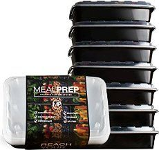 The Ultimate List of Once a Week Meal Prep Containers. Meal prep to lose weight and maintain a healthy lifestyle.
