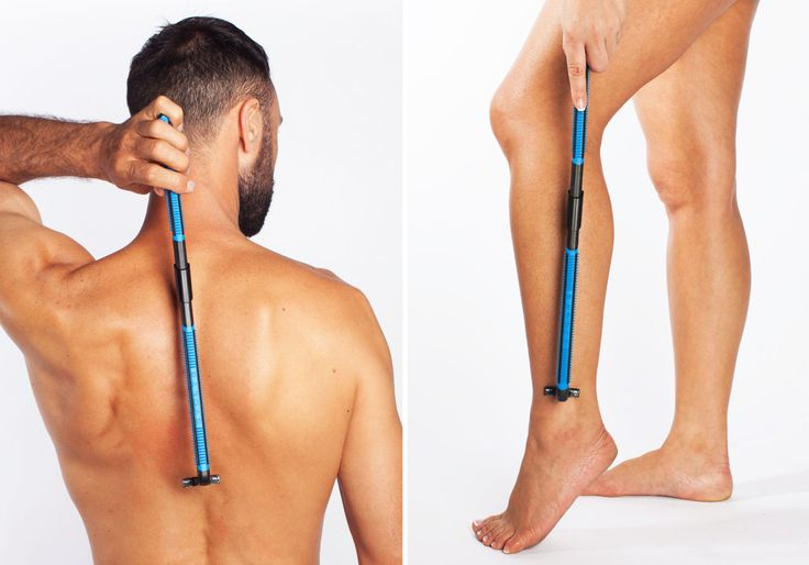 EVOLVE Body Razor Back Shaver Leg Shaver  Shave Wet or Dry  4 cartridges incl
