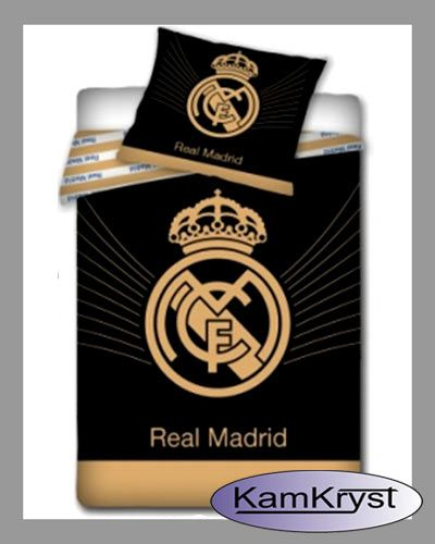 Bedding Real Madrid Black   Pościel Real Madrid Black #real_madrid #real_bedding #reak_madrid_bedding