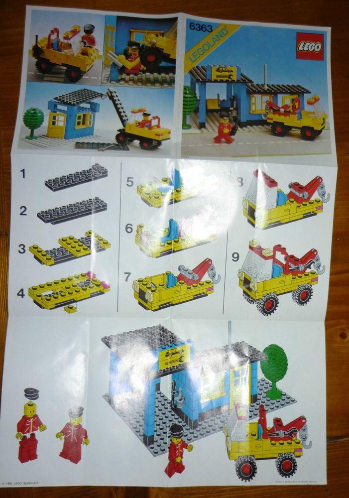 LEGO 6363 -  Istruzioni (instruction only)