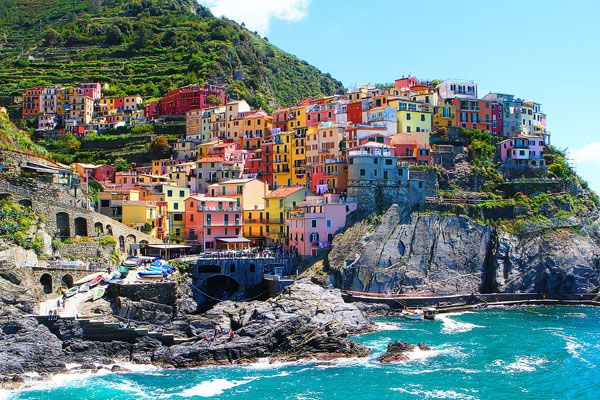 チンクエテッレ(Cinque Terre)/イタリア