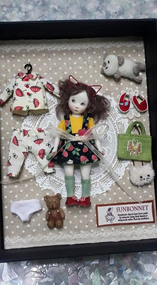 Doll Set by Sun Joo Dee