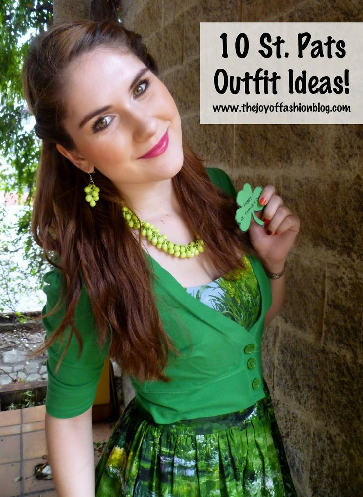 10 St. Patrick's Day outfit ideas!