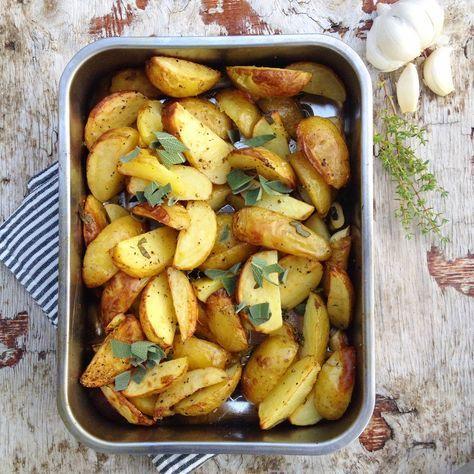 [kjøkkentjeneste]: Verdens beste ovnsbakte poteter