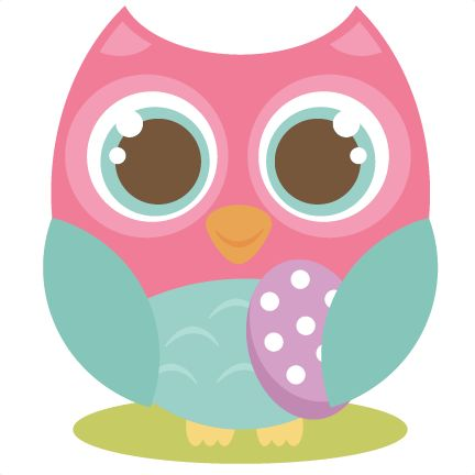 Easter Owl SVG cutting file cute owl clipart free svg cut files ...