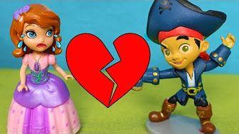 Princesa Sofia Juguetes en Español 1 🎀 La boda de Sofia y Jake el pirata - YouTube
