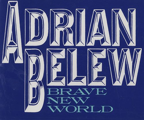 "For Sale - Adrian Belew Brave New World Japan Promo  CD single (CD5 / 5"") - See this and 250,000 other rare & vintage vinyl records, singles, LPs & CDs at http://eil.com"