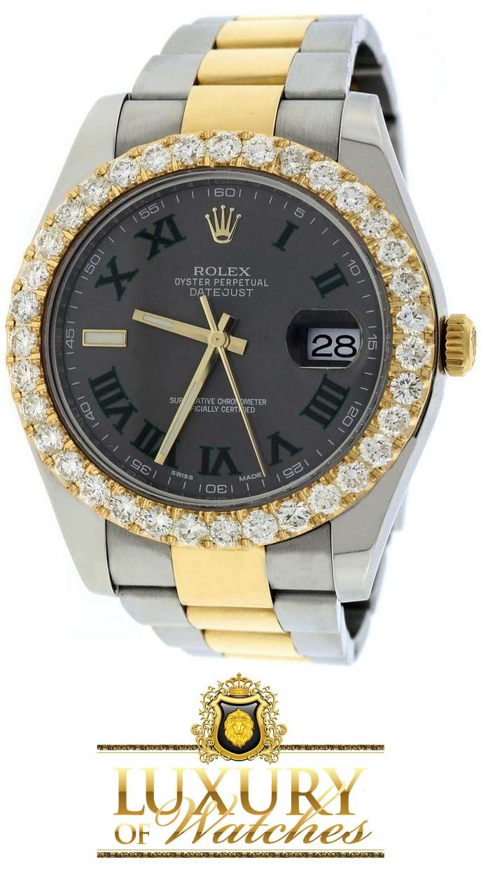 Rolex Datejust II 2-Tone 18K Yellow Gold & Stainless Steel Automatic